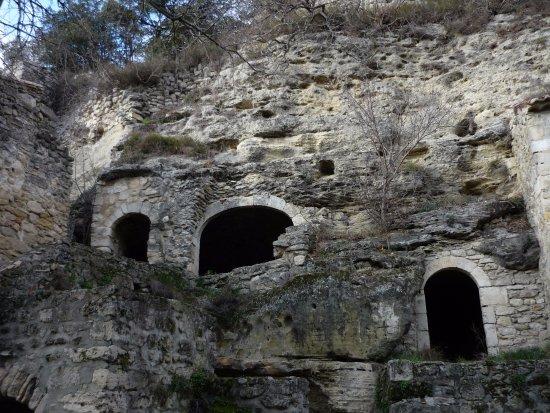 Village troglodyte de Barry : exemple de maison troglodyte