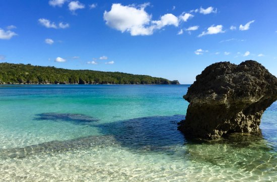 South Pacific Cruises - Coongoola Day Cruise: Moso's white sandy beach