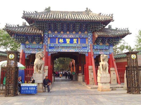 Qufu, Cina: 至聖林