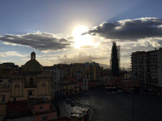 Dalla terrazza - Foto di Fly Boutique Hotel, Napoli - TripAdvisor
