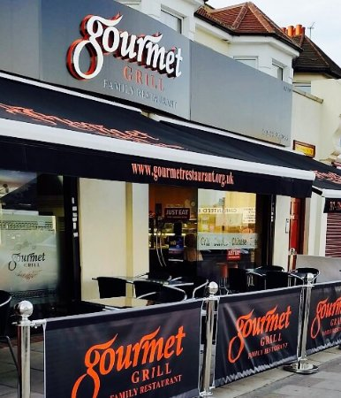 Ilford, UK: Restaurant from outside
