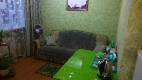 Tulun, Russia: Диван в номере