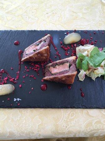Puos d'Alpago, Italia: sandwich cervo