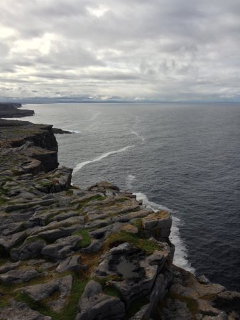 Dun Aenghus: Dún Aonghasa is the most famous of several prehistoric forts on the Aran