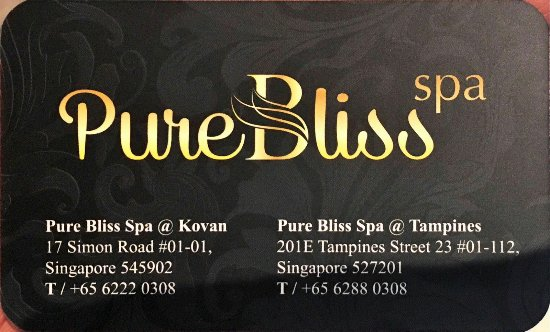Pure Bliss Spa Kovan Review