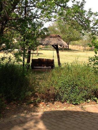 Valverde Country Hotel: Garden swing