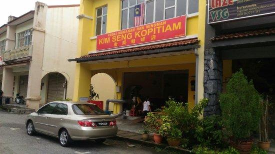 Balik Pulau, Malaysia: Kim Seng Kopitiam