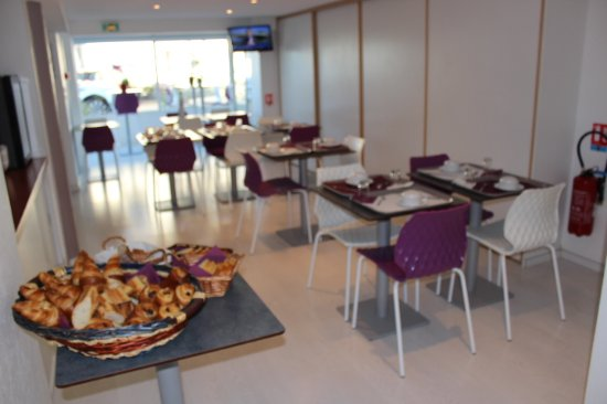 Hotel Les Atlantes : Salle du petit déjeuner
