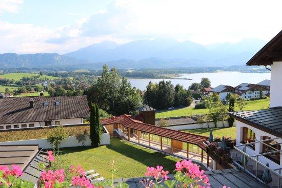 Hartung's Hotel Village & Spa: Blick aus unserem Fenster