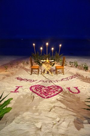 Amarela Resort: The staff prepared this since it was our wedding anniversary