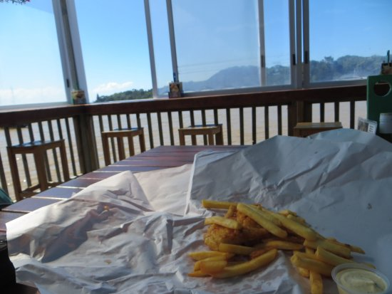 Mangonui, Nueva Zelanda: Lekkere fish and chips