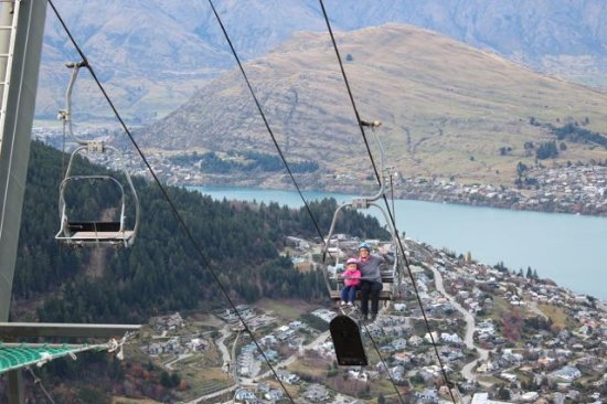 Skyline Queenstown Exciting Chair Lift To The Top Of Luge