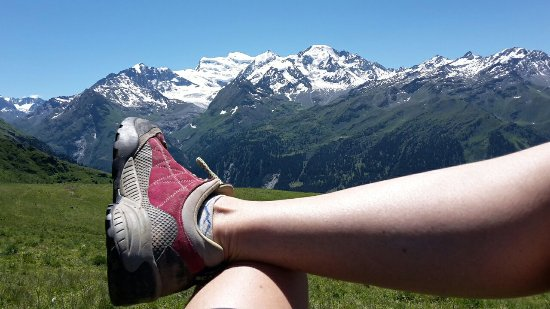 Le Chable, Switzerland: Verbier hikes in summer