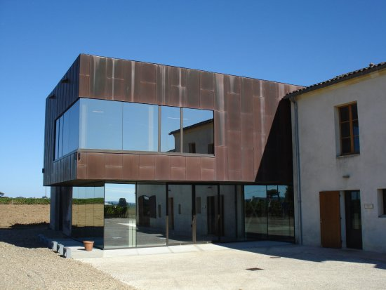 Pomerol, Francia: Achterkant