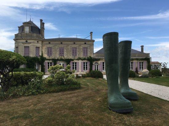 Moulis-en-Medoc, Prancis: Chateau