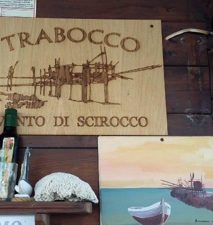 San Vito Chietino, Italie : particolare dal trabocco