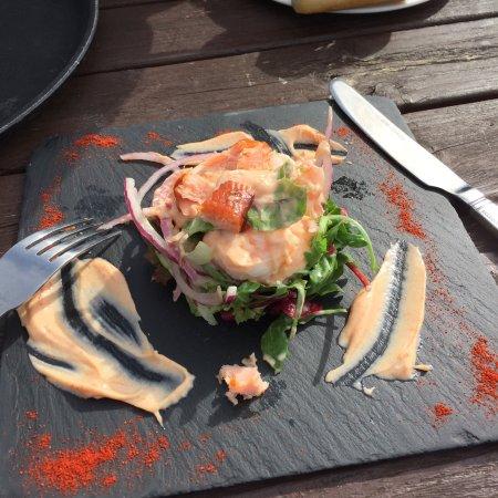 Rowardennan, UK: Essen kleine Protion aber sehr gut!