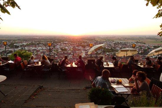 Schriesheim, Germany: Blick von oberer Terrasse