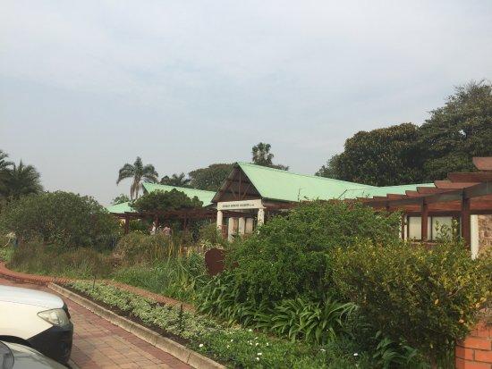 Durban Botanical Gardens: outside conference centre