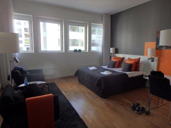 Sky Hotel Apartments Stockholm: spacious