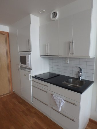 Sky Hotel Apartments Stockholm: kitchen in the room, small but well equipped