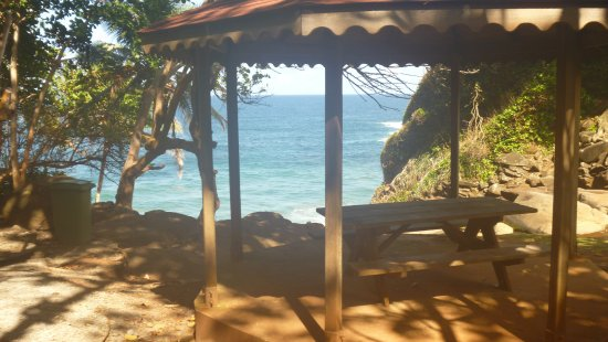 Saint George Parish, Dominica: Vue sur la mer