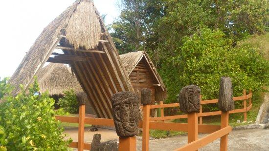 Carib Cultural Village by the Sea (Kalinago Barana Aute): Entrée