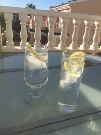 Gran Alacant, España: After a hard day at the beach