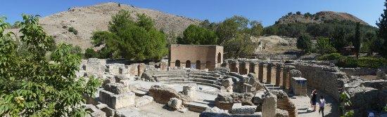 Heraklion Prefecture, Grecia: Teren ogrodzony