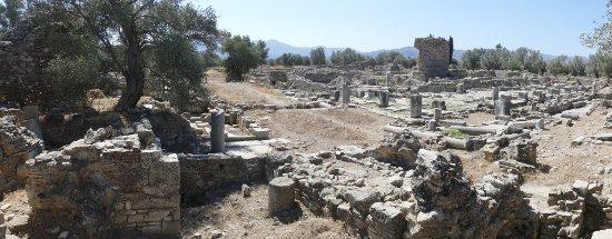 Heraklion Prefecture, Grèce : teren nie ogrodzony [trwają tu prace wykopaliskowe]