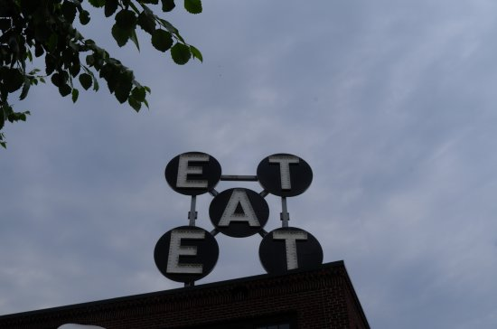 "Rockland, ME: ""Eat"" Robert Indiana"