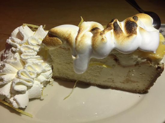 Natick, MA: Cheesecake factory - with lemon...