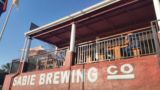 Sabie, Sydafrika: Het restaurant van buitenaf