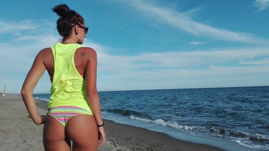 Matrimonio Ultima Spiaggia Capalbio : Un infinita spiaggia libera foto di ultima