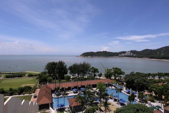 Grand Coloane Resort Macau: Room X06 to X12 have views similar to this one