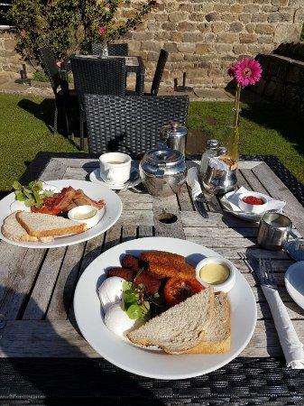 Bolton Abbey, UK: Best breakfast in a long time.
