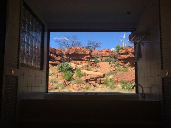 Kings Canyon, Australia: Gorgeous spa view