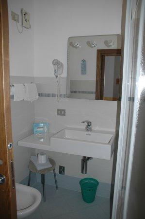 Hotel Vallecetta: Bagno Mansarda