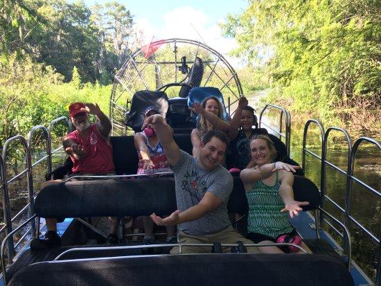 Lake Panasoffkee, FL: Florida airboat rides