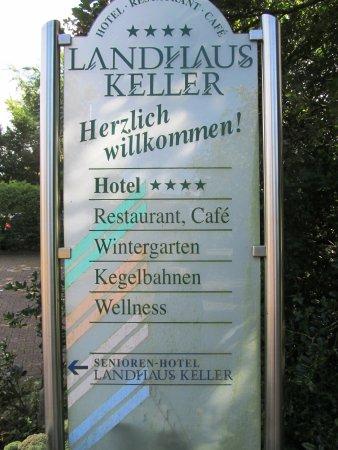 Raesfeld, Deutschland: Hinweisschild