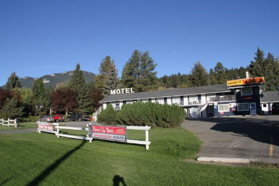 Clinton, Canadá: The Round-Up Motel in September 2016