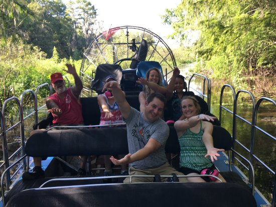 Lake Panasoffkee, FL: Airboat rides Florida