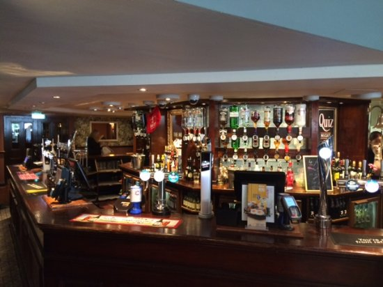 Bromborough, UK: Our fully stocked bar contains all of your favourite brands as well as a range of premium and cr