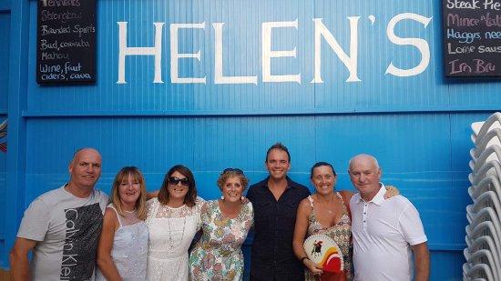 Helen's Tartan Shamrock : Some of the regulars