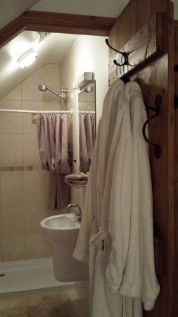 Abergavenny, UK: Top floor en-suite shower room