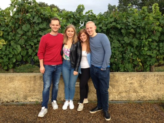 Tremolat, França: Wine tour with Ruth and friends