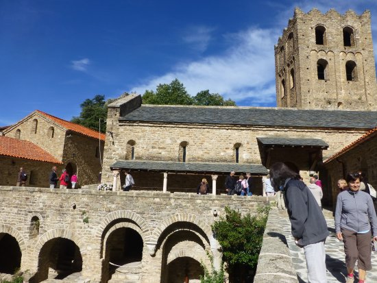 Casteil, Frankrike: L'abbaye au cours de la visite