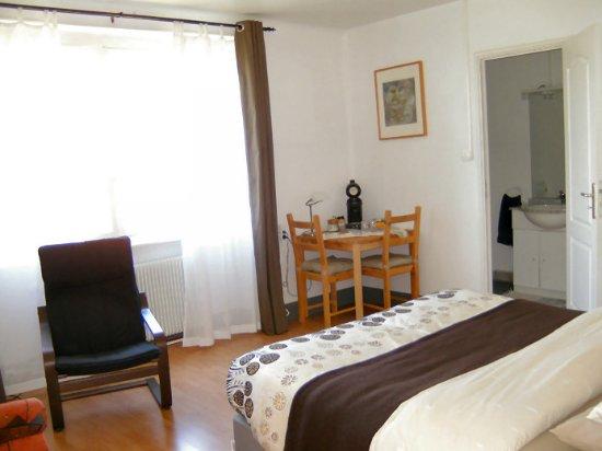 Franco Condado, Francia: one of the bedrooms on B&B A-Rigaud