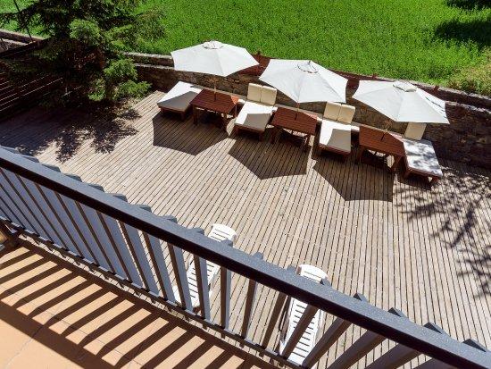 Ansalonga, Andorra: terraza des de balcòn