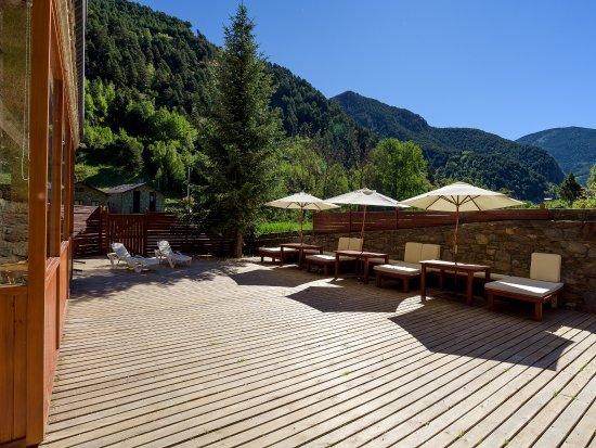 Ansalonga, Andorra: terraza
